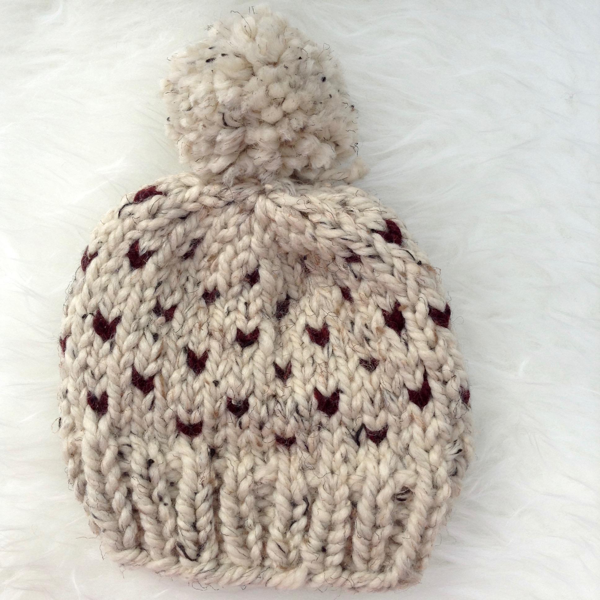 Oatmeal Raisin Cookie Baby Hat