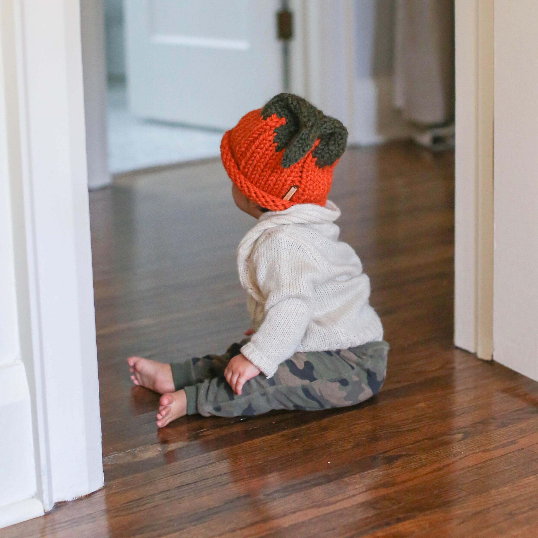 Baby Pumpkin HeadHat