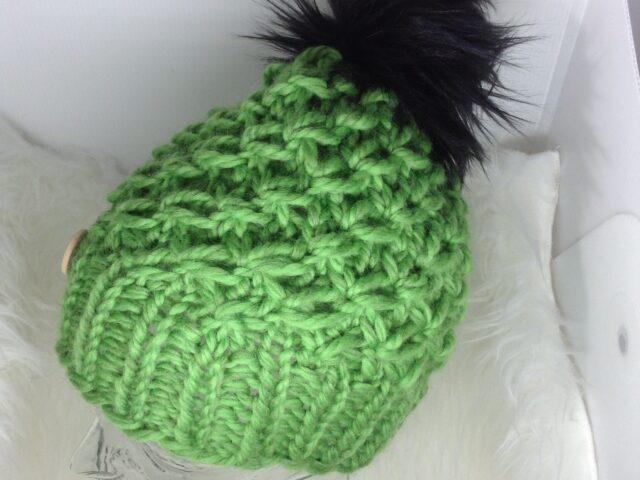 Crush Hat in Bright Green