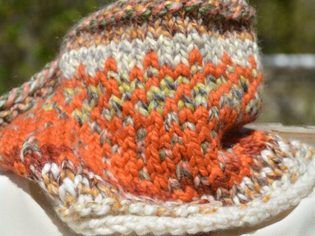 Sunrise Cowl in Autumn Wool Blend