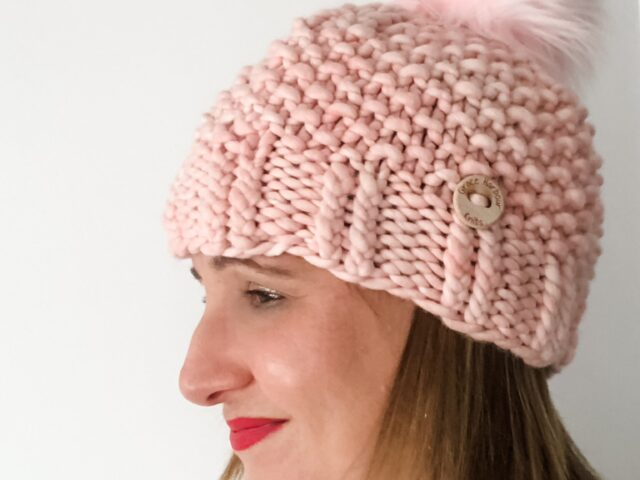 Middle Cove Beanie in Almond Blossom