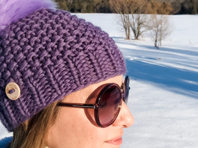 Middle Cove Beanie in Mauve